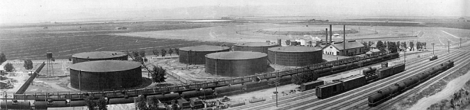 Tracy Associated Oil Depot 1926