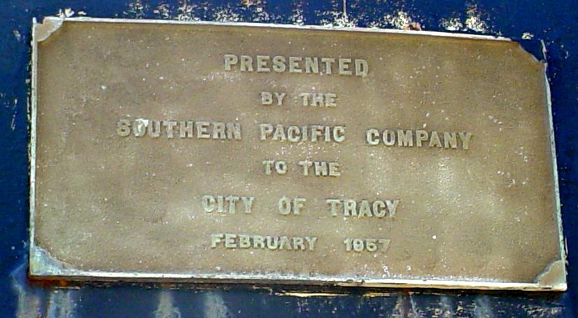 SP 1293 Plaque (2011 Photo)