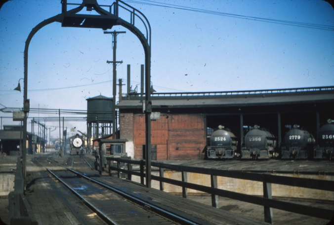 SP Tracy Turntable (Photo, Circa Early 1950s)