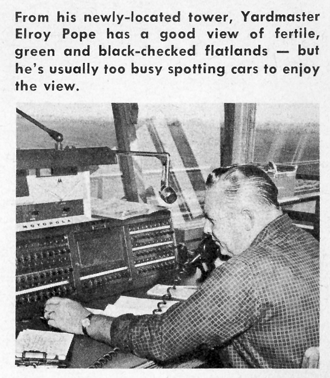 SP Tracy Yard Opens (Elroy Pope Photo, May 1961)