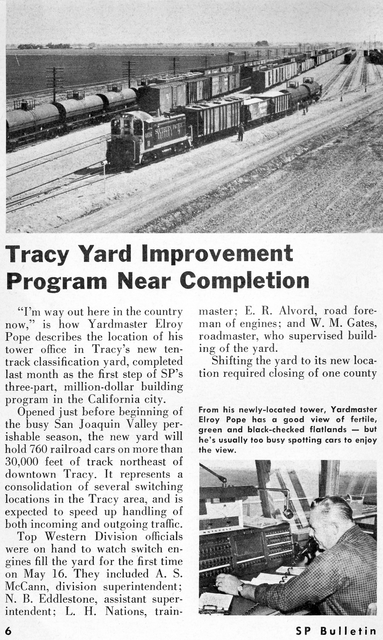 SP Tracy Yard Opens (Page 6)