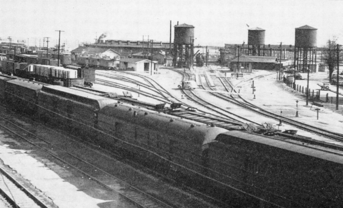 SP Tracy Yard and Shops - Circa 1948