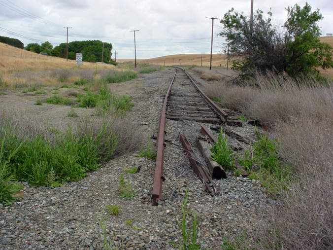 SP Tracks At Midway (Photo)