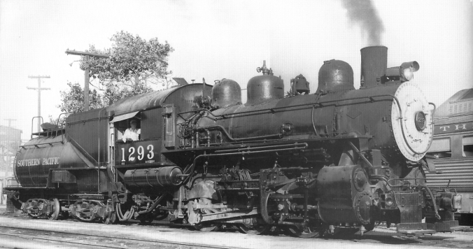 Southern Pacific 1293 (Photo, 1956)