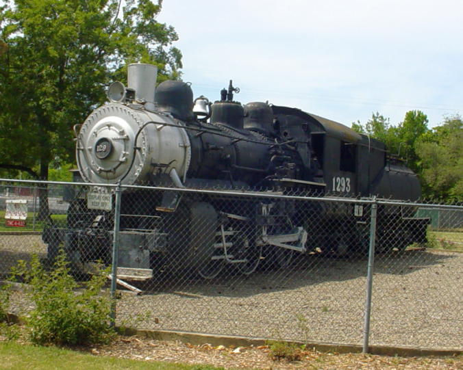 SP 1293 on display in Tracy, California