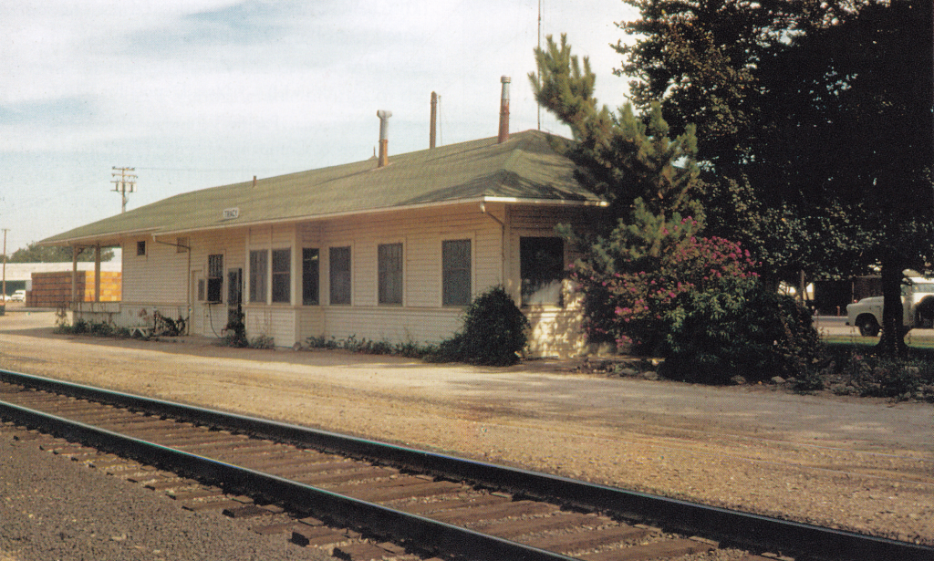 Western Pacific Tracy (Carbona) Depot