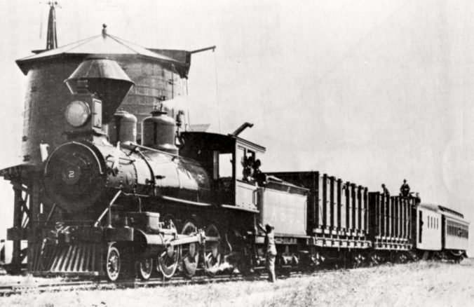 Alameda & San Joaquin Railroad Train (Photo)