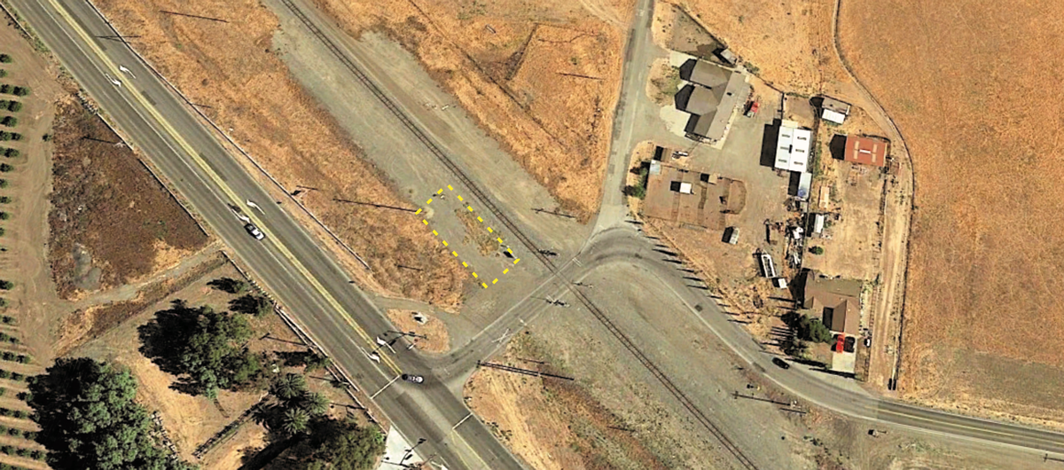 Bethany CA Depot Site (Aerial View)