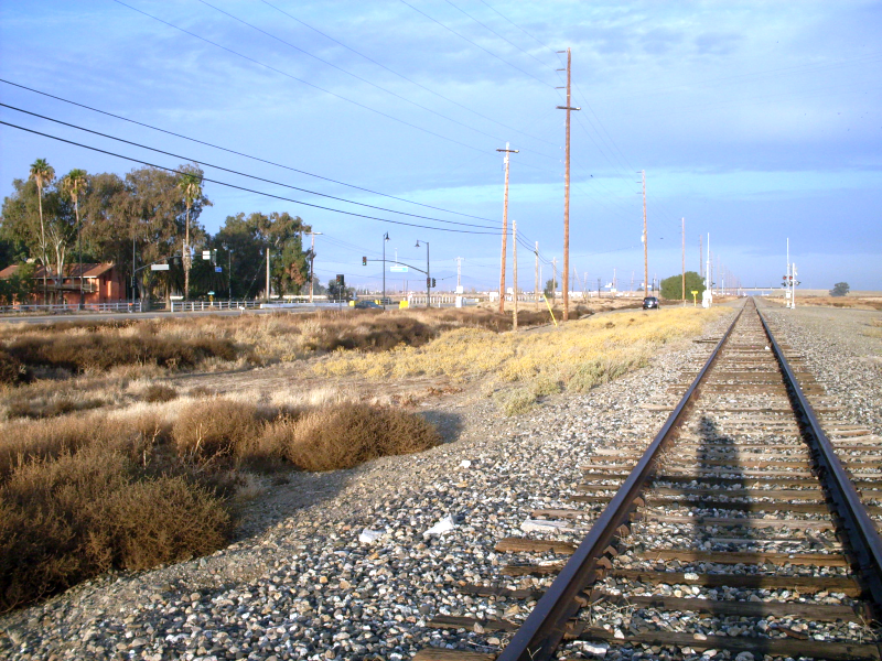 Bethany, California depot site (photo)