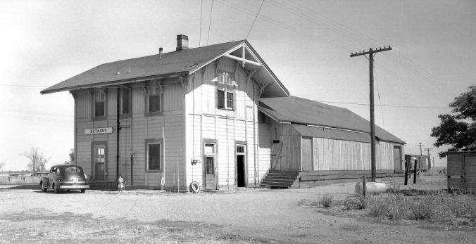 Southern Pacific depot at Bethany, Calif. (Photo)