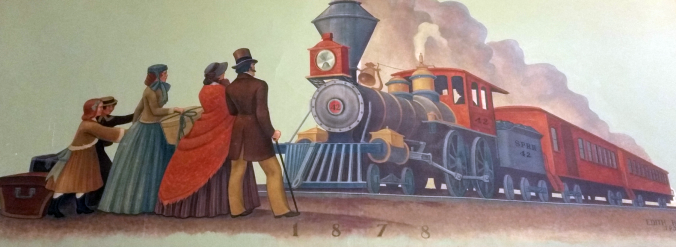 """Days Of First Railroad"" by Edith Hamlin (Image)"