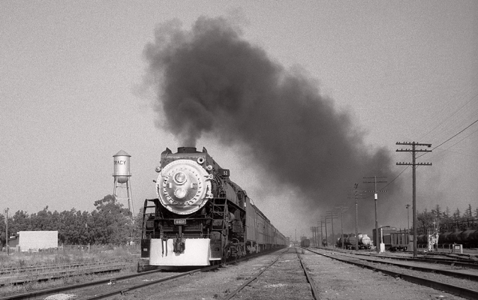 San Joaquin Daylight at Tracy (1956 Photo)