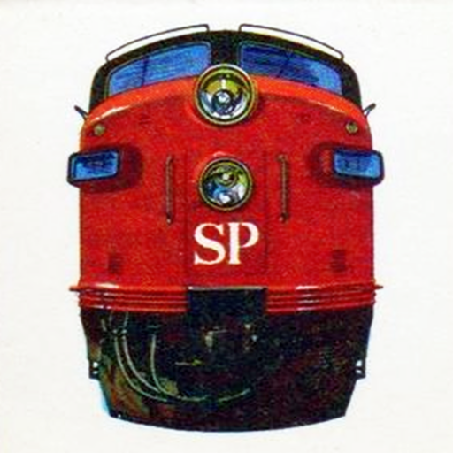 Southern Pacific Locomotive Nose (Image)