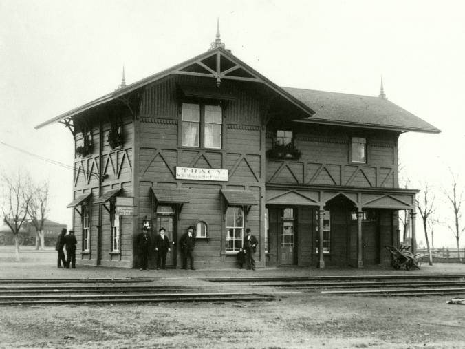 SP Tracy Depot (Circa 1912)