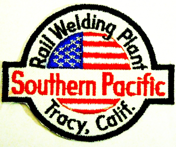 SP Tracy Welding Plant Patch (Image)