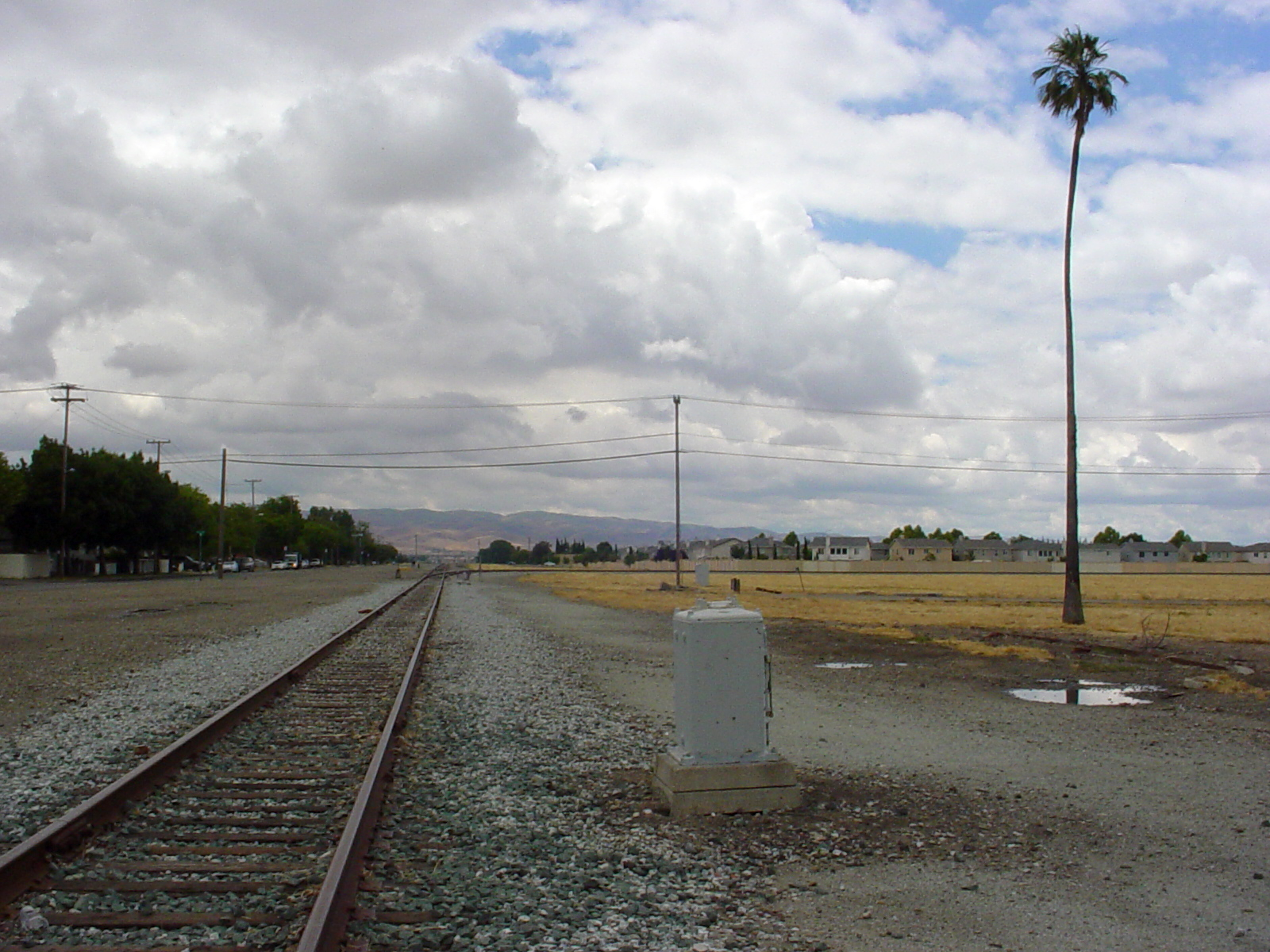 SPRR Central Avenue West (Tracy CA)