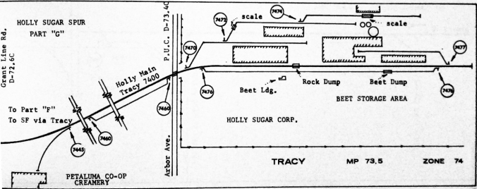Holly Sugar (Tracy) SPINS Map