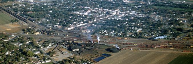 Tracy Train Yard (1950s Panorama)